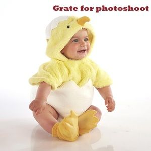 Pottery Barn Baby Chick One piece costume.
